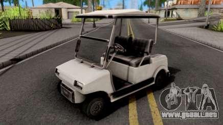 Caddy GTA VC Xbox para GTA San Andreas
