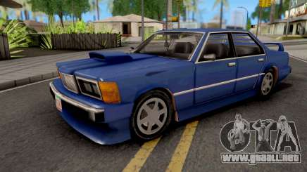 Sentinel XS GTA VC Xbox para GTA San Andreas