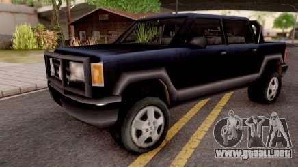 Cartel Cruiser from GTA 3 para GTA San Andreas