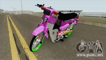 Honda C70 GBO J Alloy Godzilla para GTA San Andreas