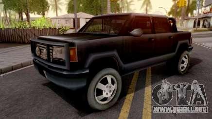 Cartel Cruiser GTA III Xbox para GTA San Andreas