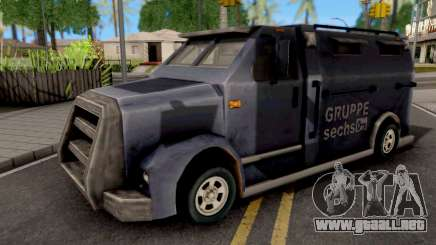 Securicar GTA III Xbox para GTA San Andreas