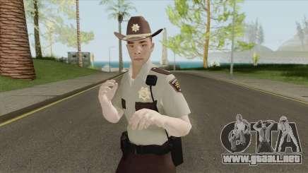 Arklay County Sheriff V2 Resident Evil 2 Remake para GTA San Andreas