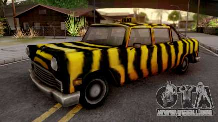 Zebra Cab from GTA VC para GTA San Andreas