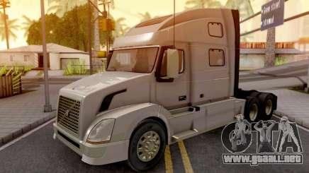 Volvo VNL Grey para GTA San Andreas