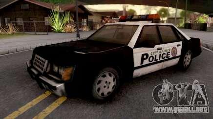 Police Car from GTA VC para GTA San Andreas