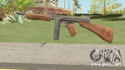 Thompson SMG (Tommy Gun) From PUBG para GTA San Andreas