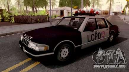 Police Car GTA III Xbox para GTA San Andreas