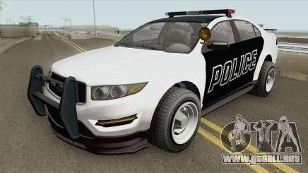 Vapid Unnamed Police Interceptor V2 GTA V para GTA San Andreas