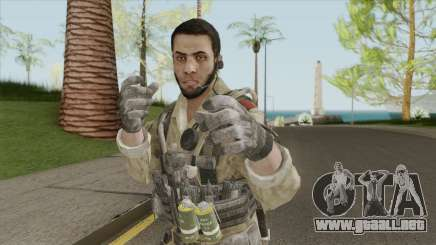 ISI Soldier V2 (Call Of Duty: Black Ops II) para GTA San Andreas