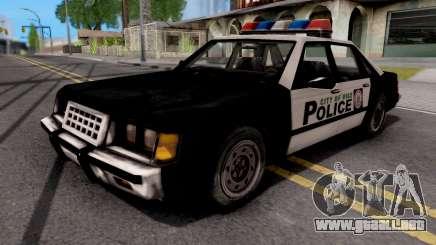 Police Car GTA VC Xbox para GTA San Andreas