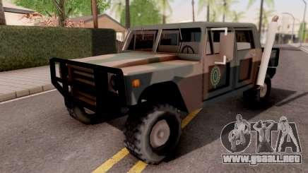Patriot Exercito Brasileiro v2 para GTA San Andreas