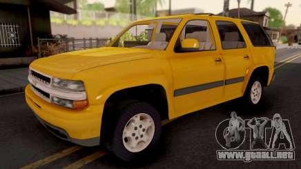 Chevrolet Tahoe 2000 para GTA San Andreas