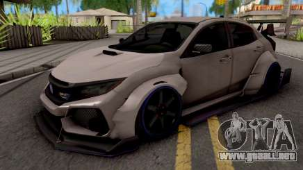 Honda Civic Type-R Grey para GTA San Andreas