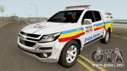 Chevrolet S10 (Policia Militar) 2019 para GTA San Andreas