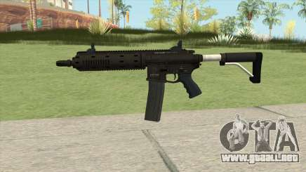 Carbine Rifle GTA V Flashlight (Extended Clip) para GTA San Andreas