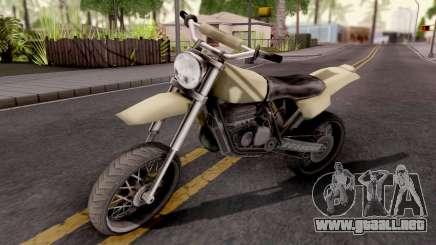 Sanchez GTA VC Xbox para GTA San Andreas