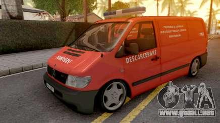 Mercedes-Benz Vito 2000 Descarcerare para GTA San Andreas