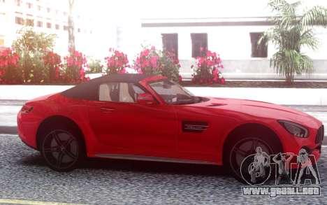 Mercedes-Benz GT-C Roadster para GTA San Andreas