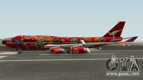 Boeing 747-400 RR RB211 (Qantas Livery) para GTA San Andreas