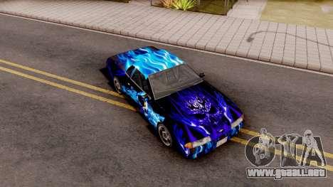 New Paint Job To Elegy para GTA San Andreas
