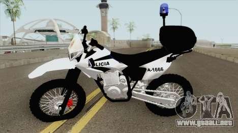 Moto Policia Argentina para GTA San Andreas