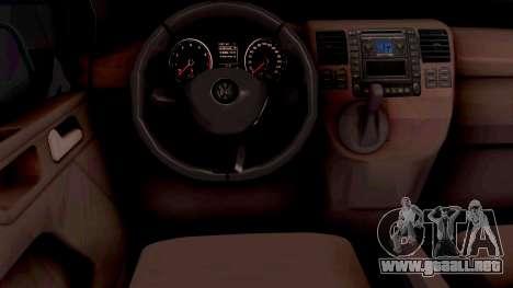 Volkswagen Transporter T6 2018 para GTA San Andreas