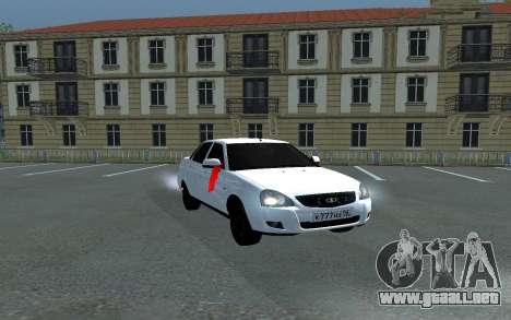 Lada Priora De La Boda para GTA San Andreas
