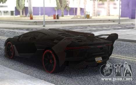 Lamborghini SC18 Alston 19 para GTA San Andreas