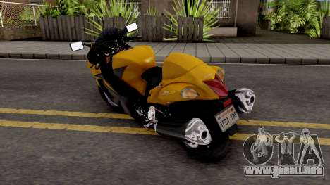 Suzuki GSX1300R Hayabusa 2015 IVF para GTA San Andreas