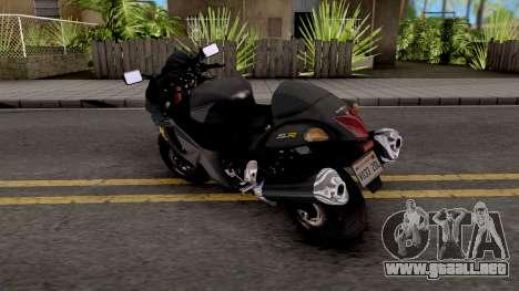 Suzuki GSX1300R Hayabusa 2015 HQLM para GTA San Andreas
