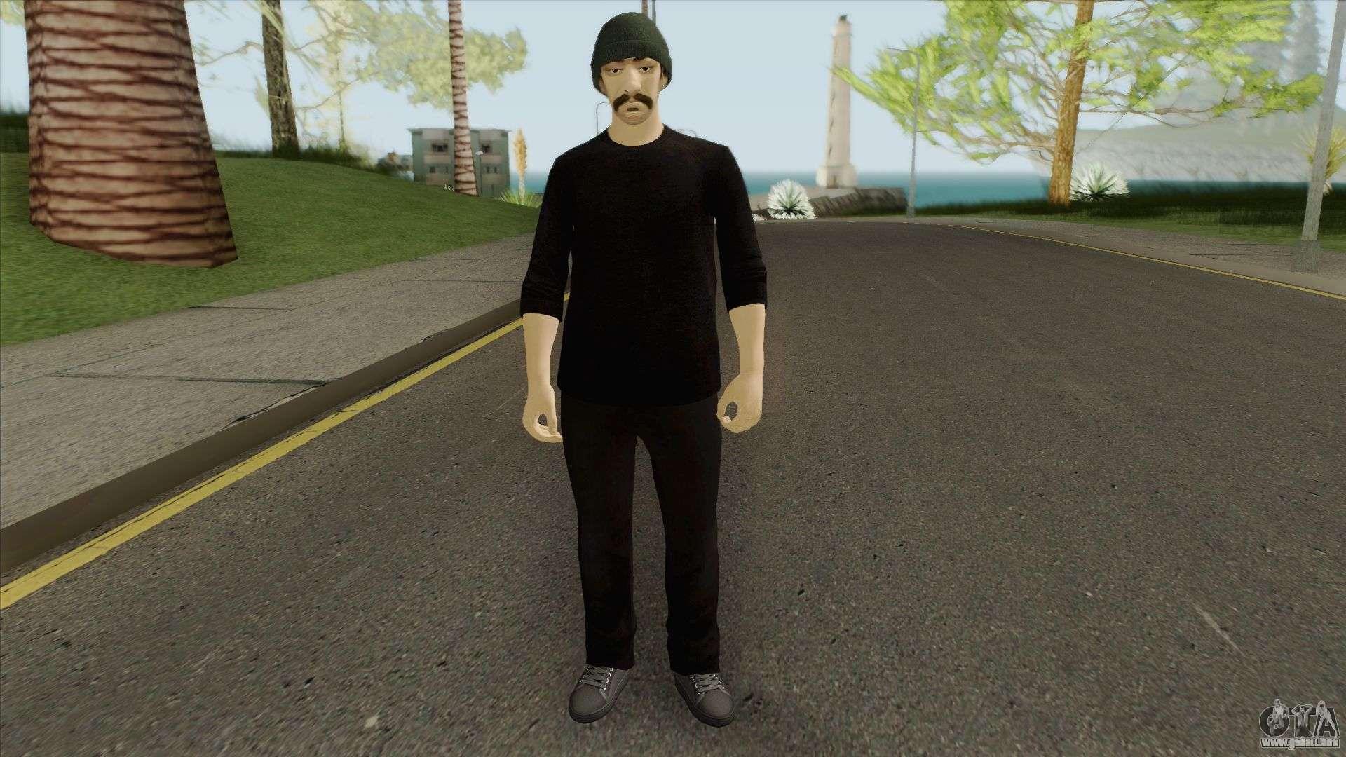 Skin Random 196 V2 (Outfit Security) Para GTA San Andreas
