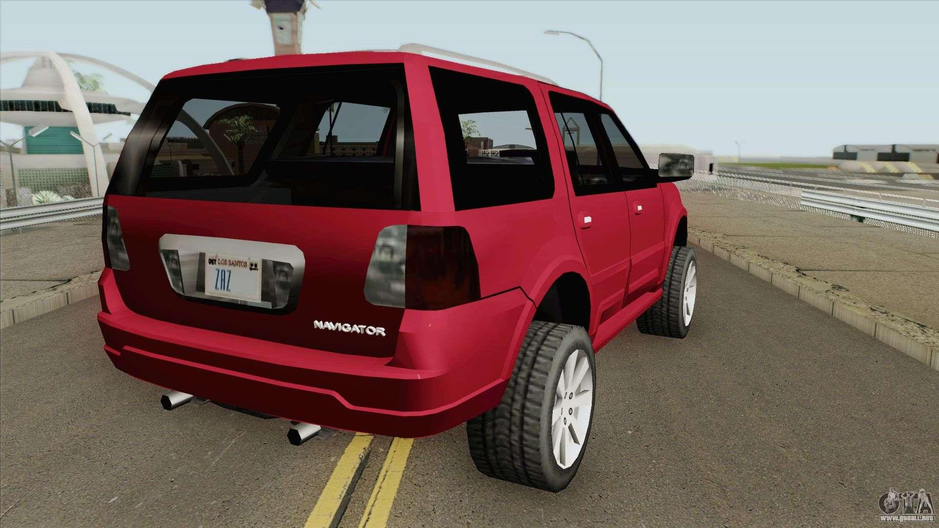 Lincoln Navigator 2004 (SA Style) Para GTA San Andreas