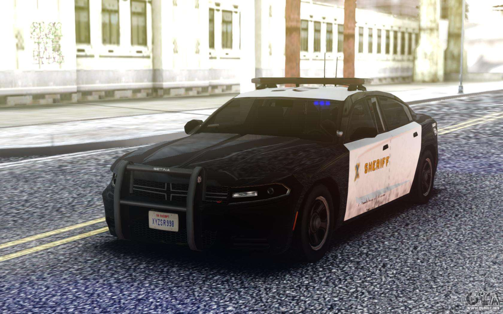 Dodge Charger 2019 Enforcer Para GTA San Andreas