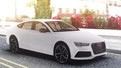 Audi RS7 White para GTA San Andreas