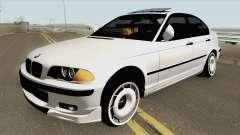 BMW 320d E46 Sedan MQ para GTA San Andreas