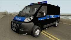 Fiat Ducato Polskiej Policji para GTA San Andreas