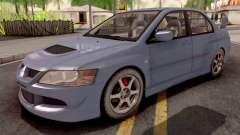 Mitsubishi Lancer EVO 8 Sedan para GTA San Andreas
