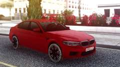BMW M5 F90 Red Snow para GTA San Andreas