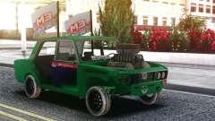 VAZ 2106 Roto Sin Puertas para GTA San Andreas