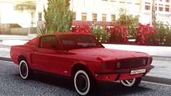 Ford Mustang 1967 Red Muscle para GTA San Andreas