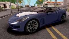 Invetero Coquette GTA 5 Blue para GTA San Andreas