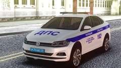 Volkswagen Polo 2019 SB de la policía de tráfico para GTA San Andreas