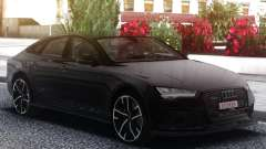 Audi RS7 Black para GTA San Andreas