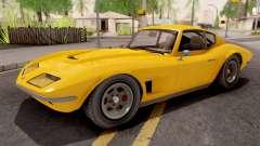 GTA V Invetero Coquette Classic Hardtop IVF para GTA San Andreas