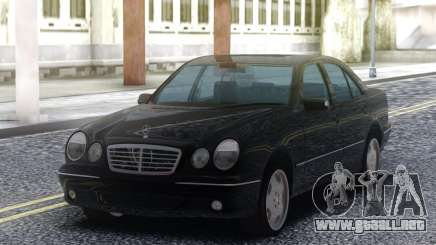 Mercedes-Benz E55 Sedan Black para GTA San Andreas