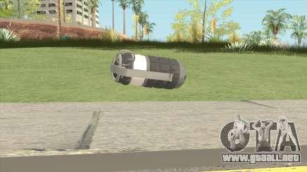 New Grenade (Gray) para GTA San Andreas