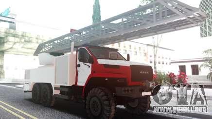 Ural PRÓXIMO Incendio para GTA San Andreas