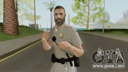 SAHP Officer Skin V2 para GTA San Andreas