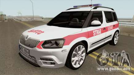Skoda Yeti - KPP PSP Sochaczew para GTA San Andreas